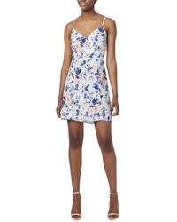 French Connection Armoise Strappy Cami Dress - Blue
