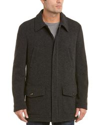 Pal Zileri Safari Wool-blend Jacket - Gray