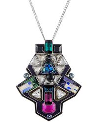Swarovski Crystal 30in Necklace - Multicolor