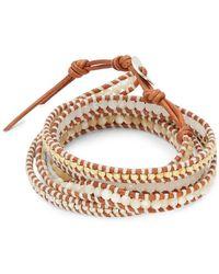 Chan Luu - Mother-of-pearl, Jade & Sterling Silver Bracelet - Lyst