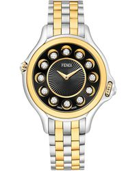 Fendi Crazy Carats Diamond Watch - Metallic