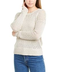 James Perse Open-stitch Sweater - Natural