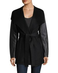 Laundry by Shelli Segal | Double Face Wool | Lyst