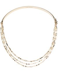 Eddie Borgo Peaked Chain Collar Necklace - Metallic