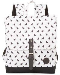 Enter # | Bird Print Mini Envelope Backpack | Lyst