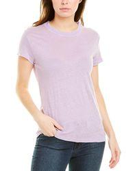 IRO Third Linen T-shirt - Purple