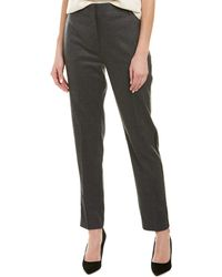 Pinko Wool-blend Pant - Grey