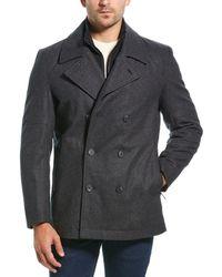 Marc New York Emmett Wool-blend Jacket - Gray
