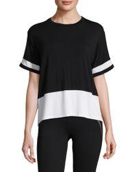 Body Language Sportswear - Remi Colorblocked Tee - Lyst