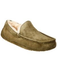 UGG Ascot Suede Loafer - Green