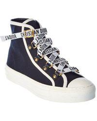 Dior J'a Canvas Sneaker - Blue