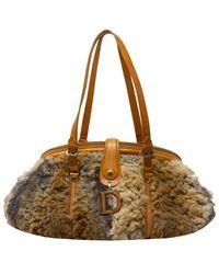 Dior Limited Edition Runway D Shoulder Bag - Multicolor