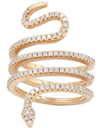 Diana M. Jewels . Fine Jewellery 18k Rose Gold 0.70 Ct. Tw. Diamond Ring