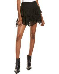 IRO Tale Mini Skirt - Black