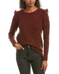 Autumn Cashmere Cashmere & Wool-blend Jumper - Red