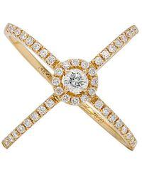 Diana M. Jewels . Fine Jewelry 14k 0.63 Ct. Tw. Diamond Ring - Metallic