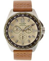 Filson - Journeyman Chrono Stainless Steel Watch, 44mm - Lyst