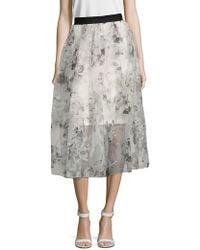 Noir Sachin & Babi - Amara Floral Skirt - Lyst