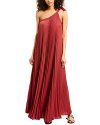 BCBGMAXAZRIA Eve Maxi Dress - Red