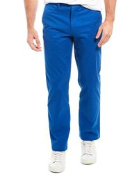 Brooks Brothers Clark Fit Pant - Blue