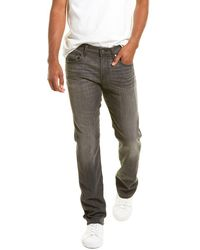 7 For All Mankind 7 For All Mankind The Straight Sabotage Straight Leg Jean - Gray