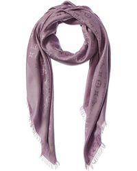 Louis Vuitton Silk & Wool-blend Scarf - Pink