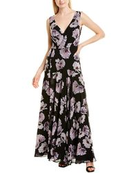 Fame & Partners Fame And Partners Gown - Black