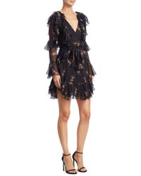 Zimmermann - Folly Fit-&-flare Silk Dress - Lyst