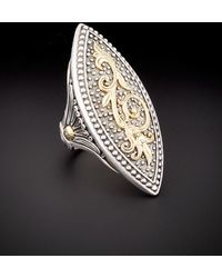 Konstantino Hebe 18k & Silver Ring - Metallic