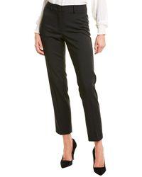 Max Mara Weekend Demetra Wool-blend Pant - Black