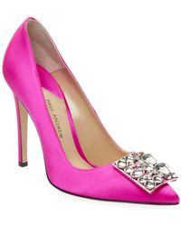 Otto embellished pumps - Pink & Purple PAUL ANDREW tEJxNd