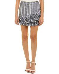 Parker - Zoro Linen-blend Skirt - Lyst