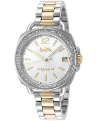COACH Women's Tatum Watch - Metallic