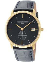 Frederique Constant Men's Slimline Watch - Metallic