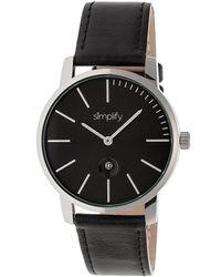 Simplify Unisex The 4700 Watch - Multicolour