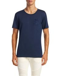 Balmain - Embroidered T-shirt - Lyst