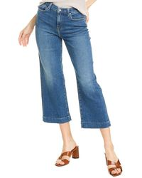 7 For All Mankind 7 For All Mankind Alexa Steller Cropped Jean - Blue