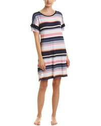 Kensie - Striped Sleepshirt - Lyst