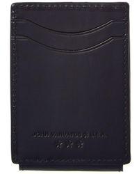 John Varvatos - Star U.s.a. Flap Leather Card Case - Lyst