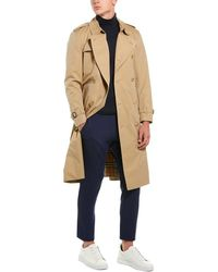 Burberry The Long Kensington Heritage Trench Coat - Natural