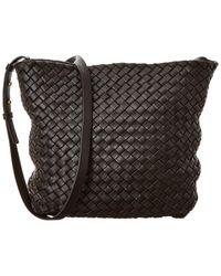 Bottega Veneta Cabat Intrecciato Leather Bucket Bag - Multicolor
