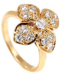 Van Cleef & Arpels Vintage Van Cleef 18k 0.55 Ct. Tw. Diamond Ring - Metallic
