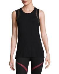 Body Language Sportswear - Orly Mesh Tank Top - Lyst