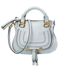 Chloé Marcie Mini Leather Satchel - Multicolor
