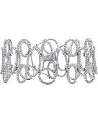 Diana M. Jewels . Fine Jewellery 18k 7.55 Ct. Tw. Diamond Bracelet - Metallic