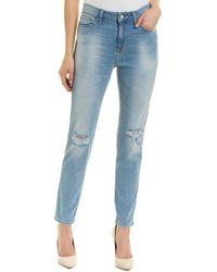 Mavi Jeans Lea Light Ripped Vintage High-rise Boyfriend Cut - Blue