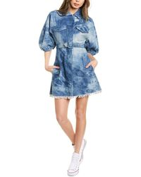 Divine Héritage Denim Shirtdress - Blue