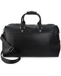 Robert Graham Samson Leather Duffle Bag - Black