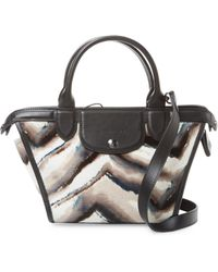 Longchamp - Le Pliage Heritage Luxe Crossbody Bag - Lyst