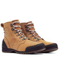 Sorel Men's Ankeny Leather Boot - Brown